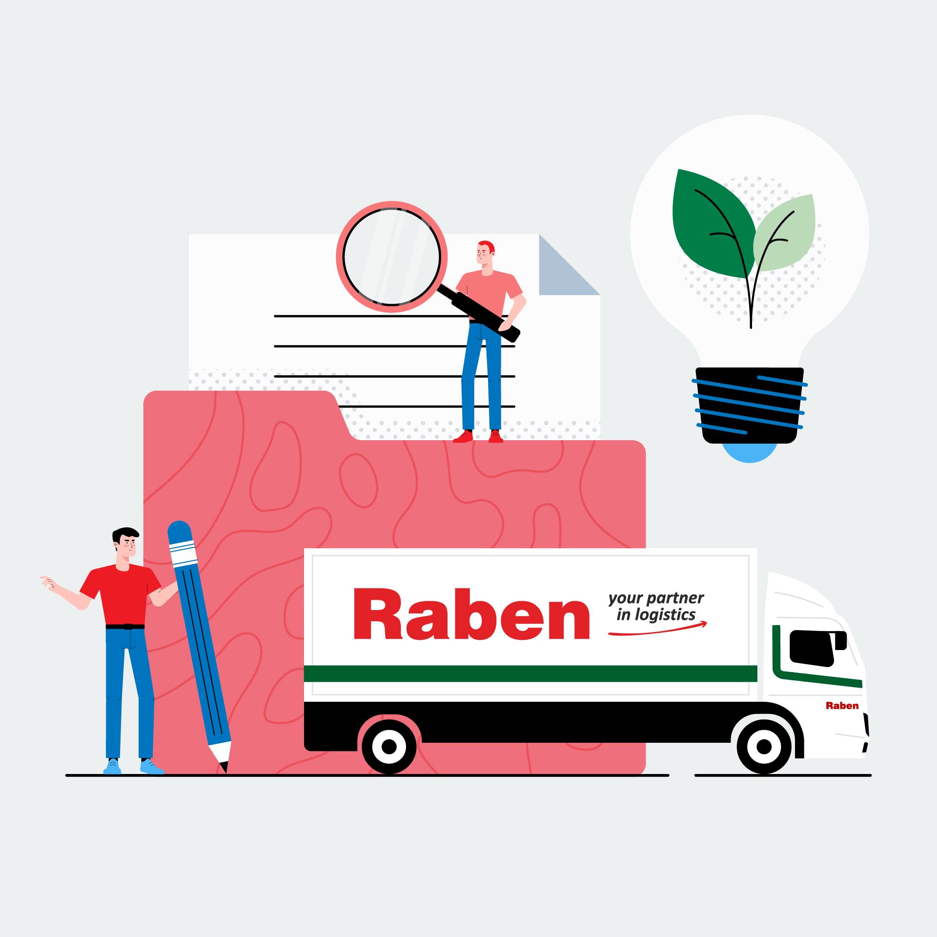 Raben – CSR animation image